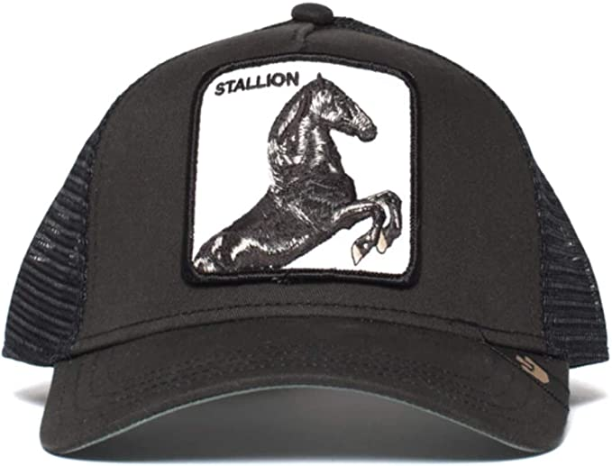 Gorra trucker negra caballo spirit Stallion