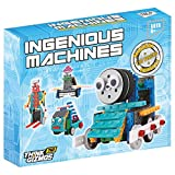 Robot Kit For Kids – Ingenious Machines Build Your Own Remote Control Robot Toy – TG632 Awesome Fun Robotic Kit & Construction Toy by ThinkGizmos (All batteries included)
