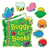 TREND enterprises, Inc. Buggy for Books Bulletin Board Set