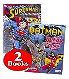 DC Comics® Batman & Superman Coloring And Activity Book Set (Two 96 -page Books)