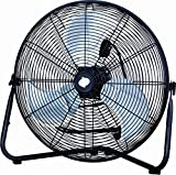PMX 20' High Velocity Floor Fan, Metal, black (HV-20K) (black),fan, floor fan, electric fan