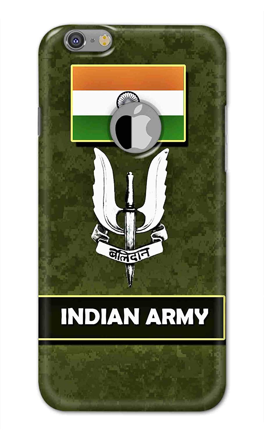 Print Vale Indian Army Balidan Logo With Indian Amazon In Electronics