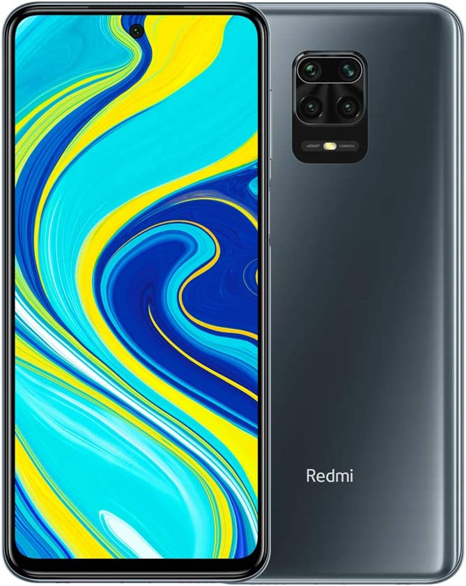 "Xiaomi Redmi Note 9S 6GB 128GB 48MP AI Quad Camera 6.67""FHD+ 5020mAh Typ18W Charge Rapide Gris interstellaire"