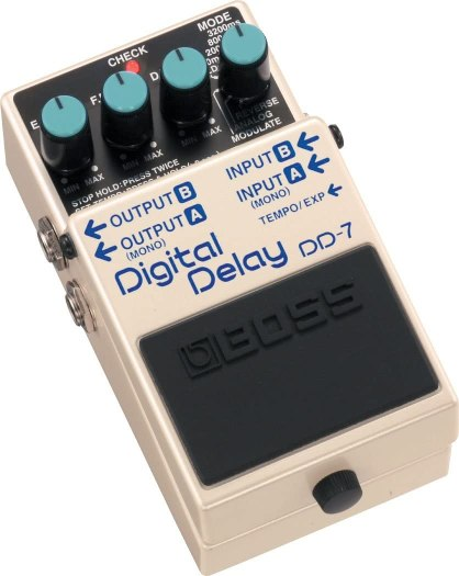 Boss DD-7: The best guitar delay pedal