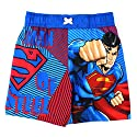 DC Comics Boys 2T-4T Superman Swim Trunk