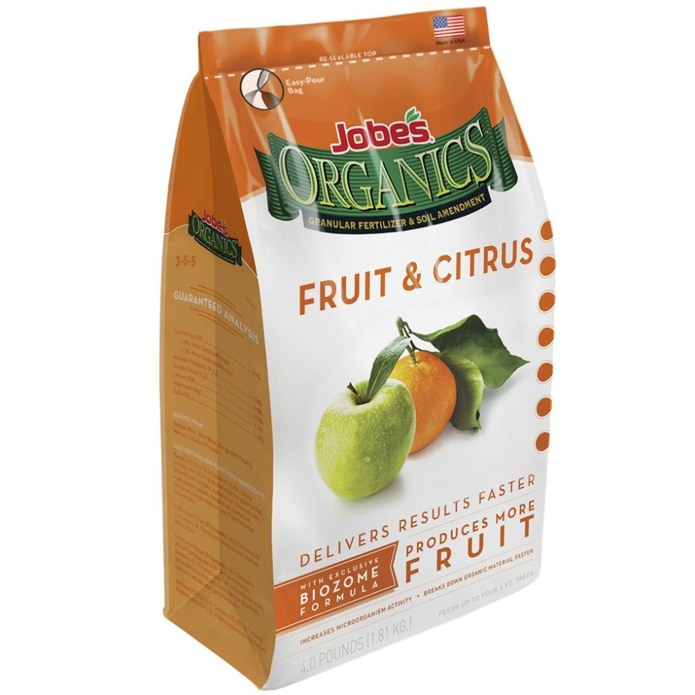 Jobes Organics Fruit and Citrus Fertlizer