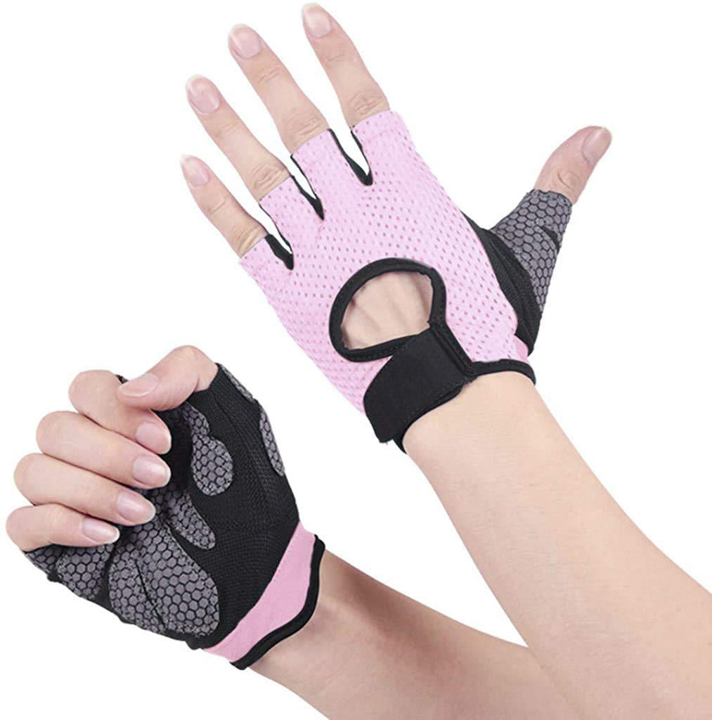 SR SUREADY Gym Gloves, Weightlifting Workout with Soft Padding & Wrist Wrap Support for Good Suitable for Men and Women- Weight Lifting, Crossfit Training, Fitness,