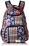 Roxy Junior's Shadow Swell Backpack, marshmallow swim vertical flow, 1SZ