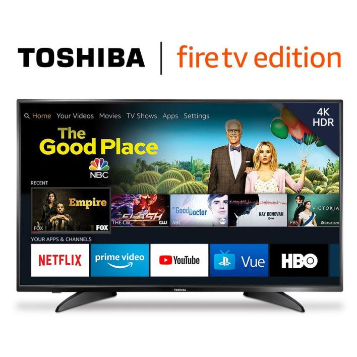 A Television with fire tv edition