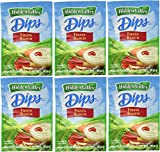 Hidden Valley Dips Mix, Fiesta Ranch 1.1 Oz Packets (Pack of 6)