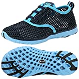 ALEADER Kid's Quick Dry Water Shoes Comfort Walking Sneakers Blue/LtBlue 13 M US Little Kids