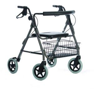 Rollator (mit 4 Rädern, für Menschen mit hohem Körpergewicht geeignet) von Nottingham Rehab Supplies (NRS)