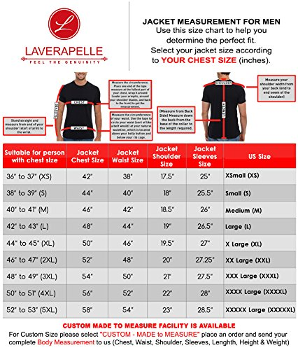 Laverapelle Men's Genuine Lambskin Leather Jacket (Black, Racer Jacket) - 1501535 18 Fashion Online Shop gifts for her gifts for him womens full figure