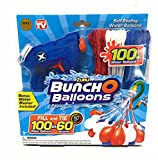Zuru Bunch O Balloons Red White & Blue 100 Water Balloons BONUS Water Blaster