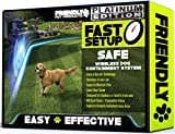Friendly Pet Products Wireless Dog Fence with Radio & IN- Ground Cord Electric Wi-Fi Transmitter