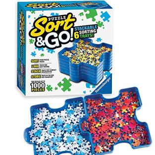 Ravensburger-Sort-and-Go-Jigsaw-Puzzle-Accessory-Sturdy-and-Easy-to-Use-Plastic-Puzzle-Shaped-Sorting-Trays-for-Puzzles-Up-to-1000-Pieces