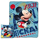 The Northwest Company Mickey Mouse 'Make Friends' Pillow & Throw Set