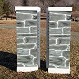 Product review for Stone Column Standards Wood Horse Jumps 2 Heights