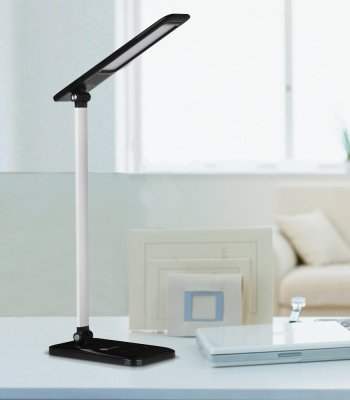 TaoTronics LED Desk Lamp, Dimmable LED Table Lamp, Cool White Reading Light, Eye-caring Book Light