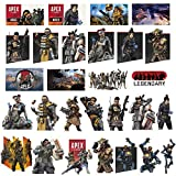 Apex Legends Stickers[80pcs], Gaming Stickers for Laptop Water Bottle Hydro Flask MacBook Car Bumper Skateboard Luggage Phone, Decal Graffiti Patches Sticker Game Party Favor for Kids Gamer and Adult