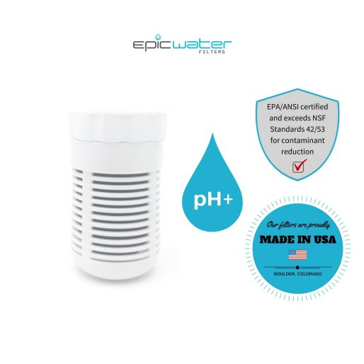 Epic Thrive Slim pH+ Water Filtration Pitcher