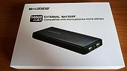 Swees ® 14000mAh Caricabatterie Portatile Universal Batteria Esterna 1