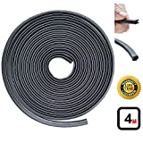 Strongman Tools | U Shape Rubber Seal Trim Protector & Guard Strip for Cars, Doors, Windows, Child Safety, Weather Proofing | Lifetime Guarantee!