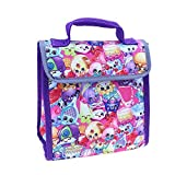 SHOPKINS Multi-Character Print Lead-Free Insulated Lunch Tote Box Bag