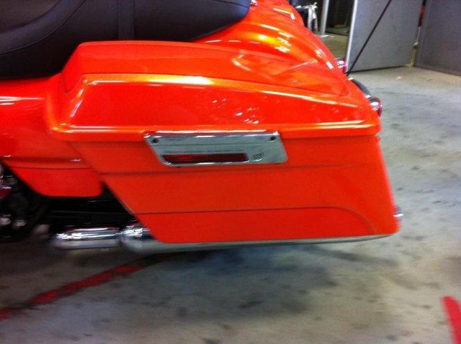 2016 Ultra Clic Candy Orange Paint Code Harley Davidson Forums