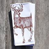 Product review for Cloth Napkins Set of 4 Cotton Kitchen Table Linens Chestnut Buck