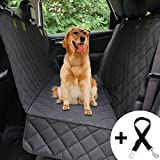 Honest Dog Car Seat Covers with Side Flap, Pet Backseat Cover for Cars, Trucks, and Suv's - Waterproof & Nonslip,Luxury(Quilted)