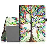Fintie iPad Pro 9.7 Case, Premium Vegan Leather Folio [Slim Fit] Standing Smart Protective Cover with Auto Sleep / Wake Feature for Apple iPad Pro 9.7-inch 2018 Model Tablet, Love Tree