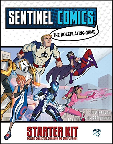 Image result for Sentinels Comics RPG: Starter Kit board game