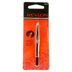 Revlon Stainless Steel Accurate Tweezing 1 ea (Pack of 2)