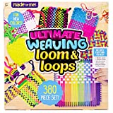 Made By Me Ultimate Weaving Loom by Horizon Group Usa, Includes Over 360 Craft Loops & 1 Weaving Loom (Amazon Exclusive), Multicolor (Renewed)