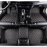 kaifeng for Dodge Charger 2011-2017 Car Floor Mats Custom Fit All-Weather 3D Covered Car mat Carpet FloorLiner Floor Auto Mats (Black Beige, 2013)
