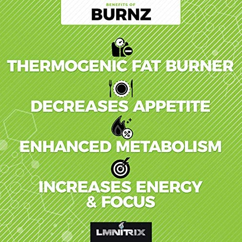 Burnz ✮ Thermogenic Fat Burner ✮ Powerful Weight Loss Aid, Stronger Than Most Diet Pills ✮ 60 Capsules 5