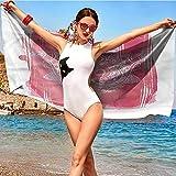 xixiBO Hand Towel W31 xL63 Hamsa,Vintage Esoteric Arabic Thin Hotel Towels