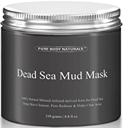 Pure Body Naturals Dead Sea Mud Mask, 250g/ 8.8 fl. oz