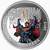 2015 Mint Proof Fine Silver Coin - Iconic SupermanTM Comic Book Covers: Superman #28 (2014) $20 Mint State