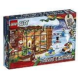 LEGO City Advent Calendar 2019 Building Set, Christmas Countdown Calendar for Kids (234 Pieces)