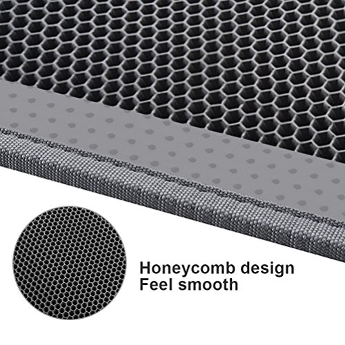 Pieviev-Cat-Litter-Box-Mat-Litter-Trapper-of-Jumbo-Size-30-X-24-Honeycomb-Double-Layer-Design-Waterproof-Urine-Proof-Material-Easy-Clean-and-Floor-Carpet-Protection-Grey