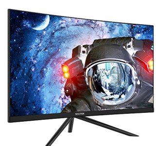 VIOTEK GN27DB 27-Inch Curved Gaming Monitor, 1440p 144Hz Samsung VA Panel, FreeSync GamePlus FPS/RTS – VESA (Black)