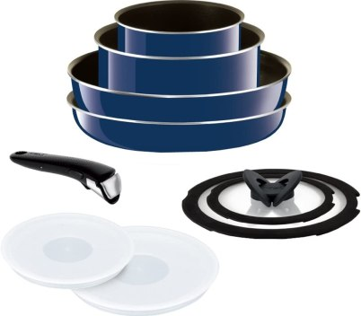 T-FAL Frying Pan Set with Detachable Handle