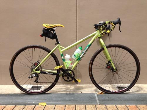 touring bike handlebars