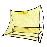 PodiuMax Portable Soccer Trainer, 2 in 1 Soccer Rebounder Net to Improve Soccer Passing and Solo Skills, 6' x 4.7'
