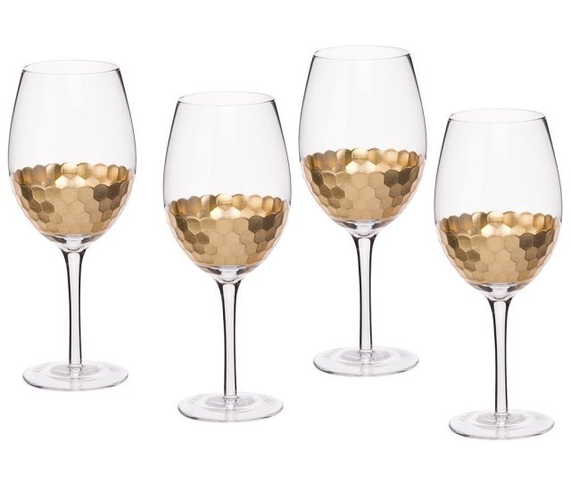 Sizewine Glasses 4 Pack La Jolie Muse Glassware Collection Glassware Is Considered A Delicate Piece Of Art Taking Inspiration From Ornate Barware