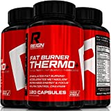 Fat Burner Thermo+ - Advanced Metabolism Booster Thermogenic for Weight Loss - Includes Acetly L-Carnitine, Green Coffee, Garcinia & Yohimbine - 120 Vegetable Capsules