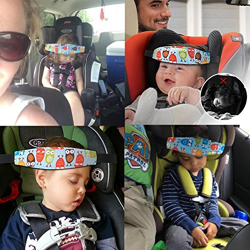 Accmor 2 Pcs Infants and Baby Head Support, Safety Car Seat Neck Relie