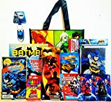 Justice League Coloring & Activity Gift Set with Justice League Reusable Tote Bag, Hot Wheel, Batman Journal & more!